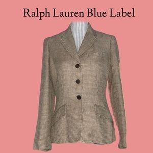 Ralph Lauren blue label 100% linen blazer, NWOT